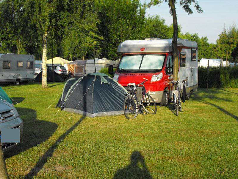 Campingplatz Reck am Olbasee Ideal für Wohnmobile